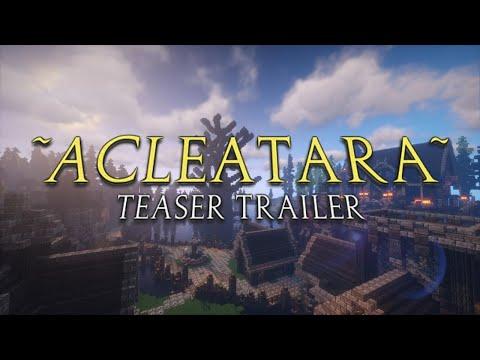 [Minecraft] Acleatara Teaser Trailer {MMORPG Server Project}