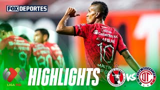 Xolos 3-2 Toluca | HIGHLIGHTS | Jornada 4 | 30 de enero