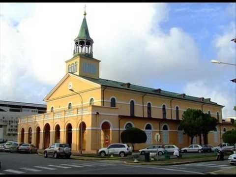 catholic cathedral... Cayenne, French Guiana (South America)