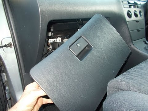 Toyota Corolla Glovebox Removal - YouTube