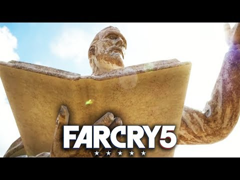 FAR CRY 5 STATUE TAKEDOWN Gameplay Walkthrough Part 6 - FULL GAME PS4 PRO!