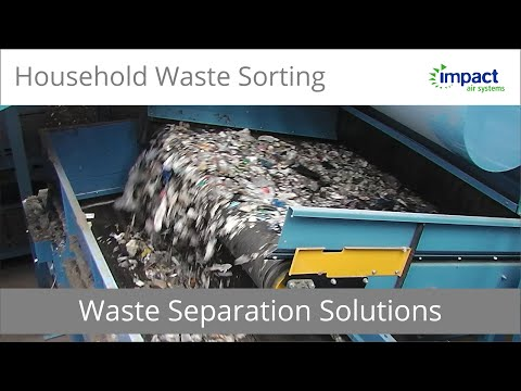 Household Waste Sorting Equipment For Recycling Centres | Zero Waste