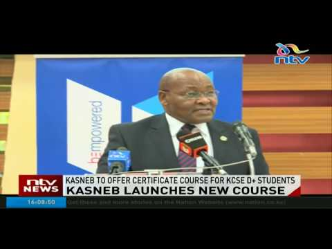 KASNEB to offer certificate courses for D+ students in new course