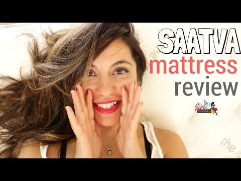 🔴 Saatva Mattress Review - Online Only Innerspring Mattress - by Girl on the Mattress 💕