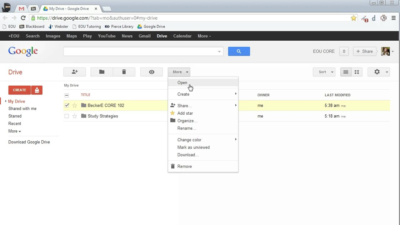how to add files to google drive shared folder
