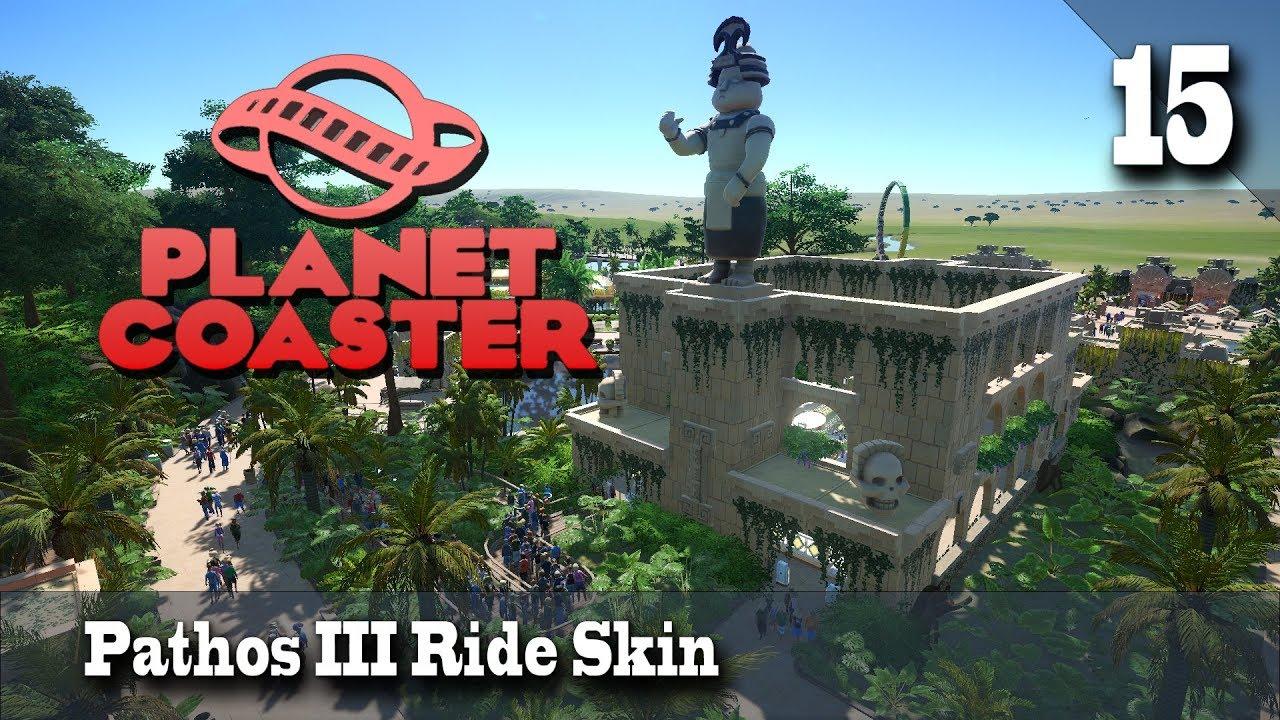 Planet Coaster Season 3 15 Pathos Iii Ride Skin Youtube