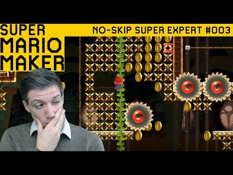 Bring Your Green Hat! [No-Skip Super Expert #003] - SUPER MARIO MAKER