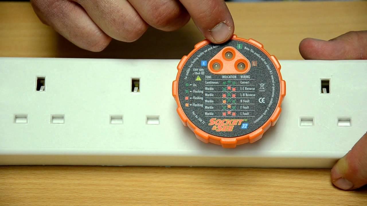 Socket See Tester Demonstration Youtube Light Wiring Diagram Australia
