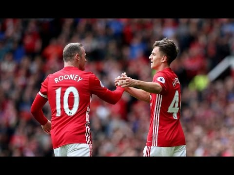 Manchester United 2-0 Crystal Palace | GOALS: Harrop, Pogba