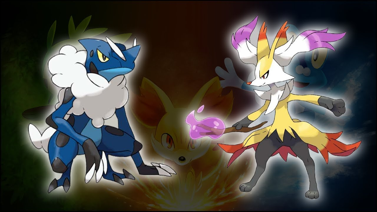 Pok  mon X and Y...X And Y Starter Evolutions