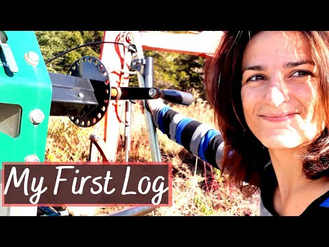 Woodland Mills HM130 Portable Sawmill | First Log on my own