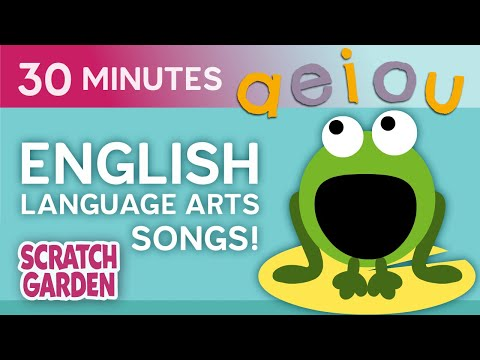 English Language Arts Songs! | Learning Songs Collection | Scratch Garden