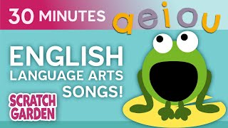 Learning English Video for Kids Compilation   Scratch Garden