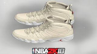 NBA 2K18 Shoe Creator ⋆#NBA2K18⋆ Jordan