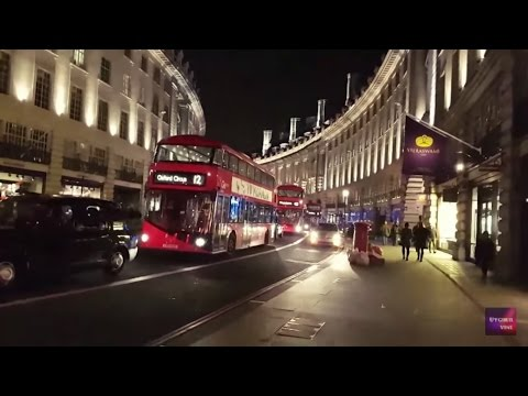 London Night Tour  ( Oxford Circus & Leicester Square)