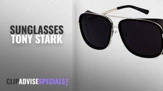 Top 10 Sunglasses Tony Stark [2018]: Salman Khan Tiger Zinda Hai Fame Inspired+FULL BLACK Iron Man