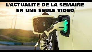 Résumé de l'actualité des voitures électriques de la semaine du 4 au 10 novembre 2019