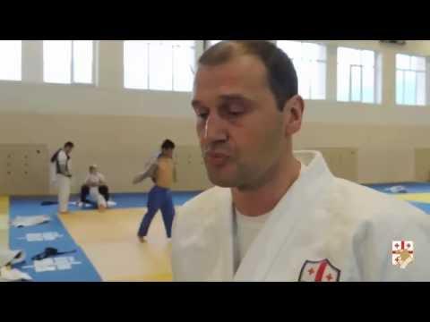 georgian judo trening