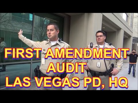 First Amendment Audit Las Vegas PD Headquarters