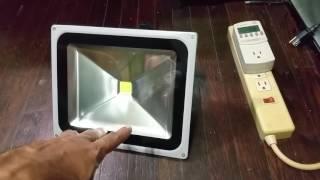 50 watt LED Flood light Review