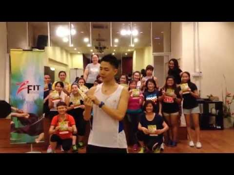 Alex Phang for SCORE FITMOB Largest Zumba Fitness Party in Malaysia 2015