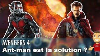 ANT-MAN fait partie du PLAN de DOCTOR STRANGE dans AVENGERS 4 ?