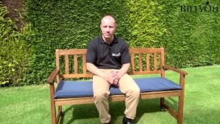 Windsor Traditional Wooden Garden Bench