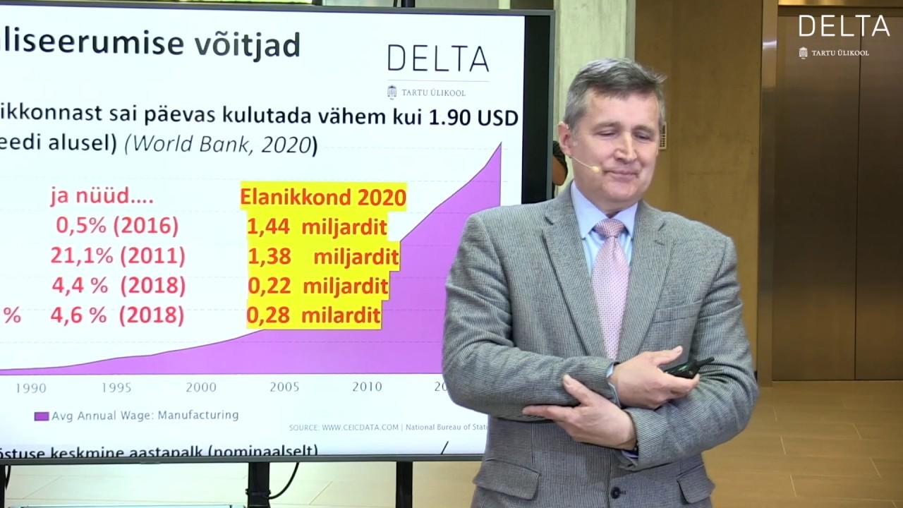 """Download Urmas Varblane - """"Muutused rahvusvahelises majanduses, tööjaotuses ja riikidevahelistes suhetes."""""""