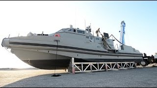 BAHRAIN!  New Coastal Command Patrol Boat Launched Into Persian Gulf!