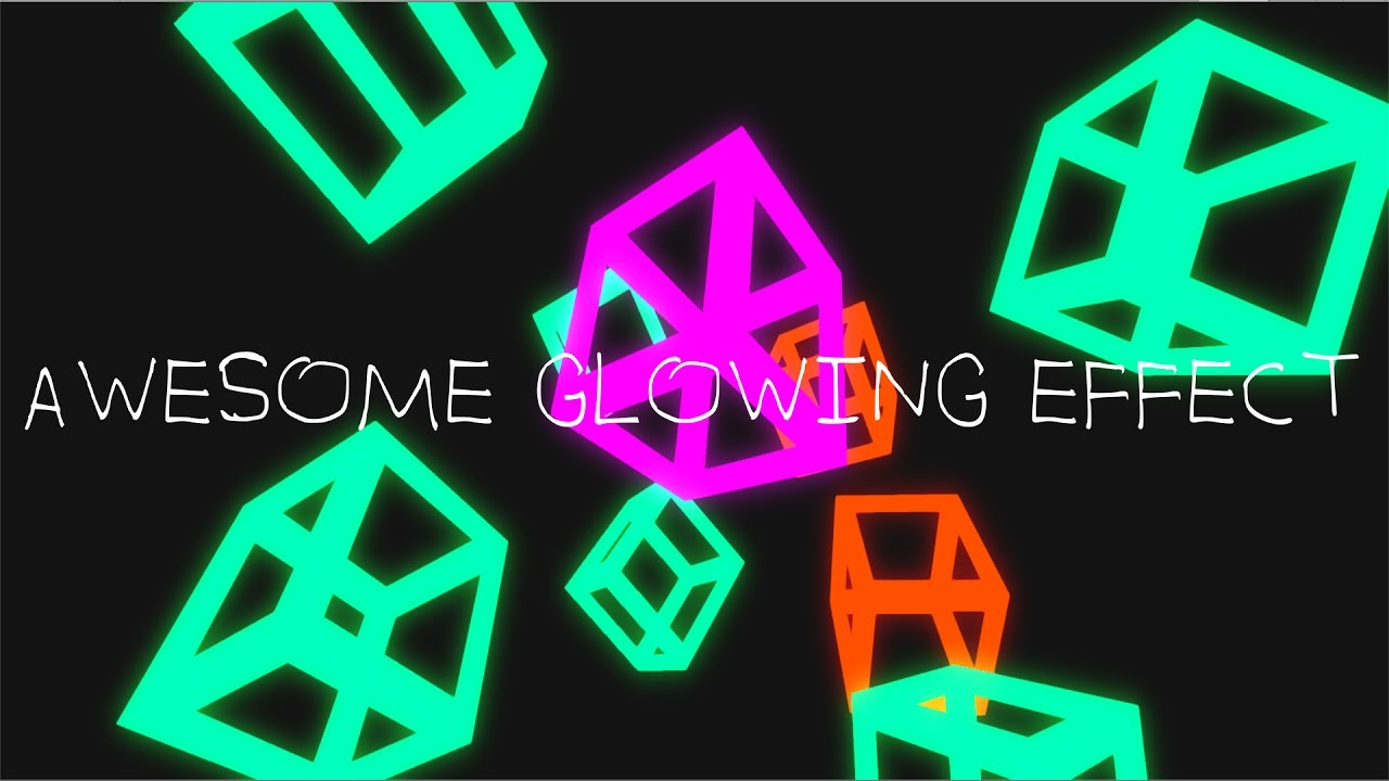 Unity3d - How to create a Awesome glowing effect