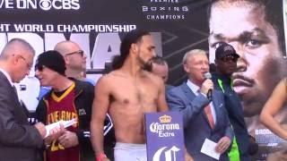 Keith Thurman vs Shawn Porter Weigh In. Thurman vs Porter PBC on CBS. HoopJab