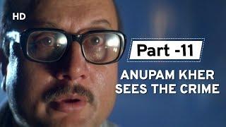 Anupam Kher Sees Crime Again [Part 11] Salaakhen | Sunny Deol | Raveena Tandon | Action Movie