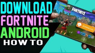 Fortnite ANDROID HOW TO DOWNLOAD IT - Fortnite Battle Royale Android Black Knight Renegade Raider