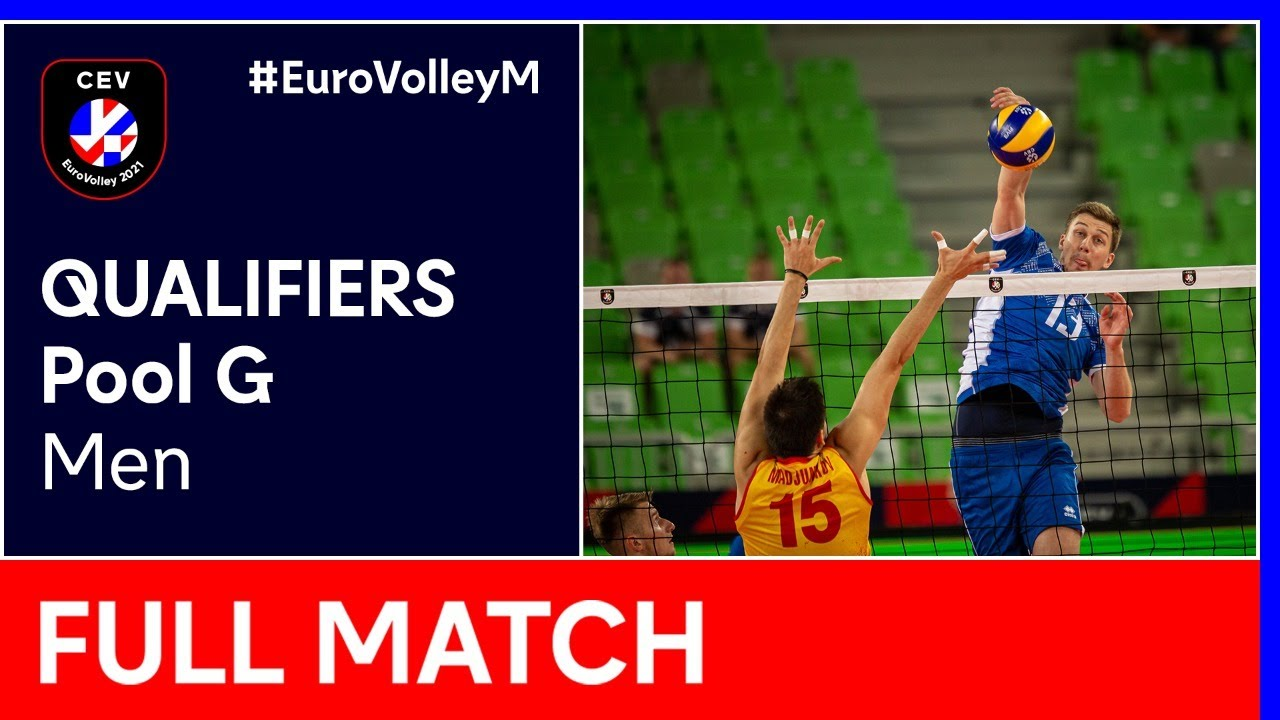 Download Belarus vs. Portugal - CEV EuroVolley 2021 Qualifiers Men