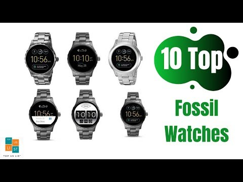The 10 Best Selling Fossil Watches Online At Amazon 2020 Reviews