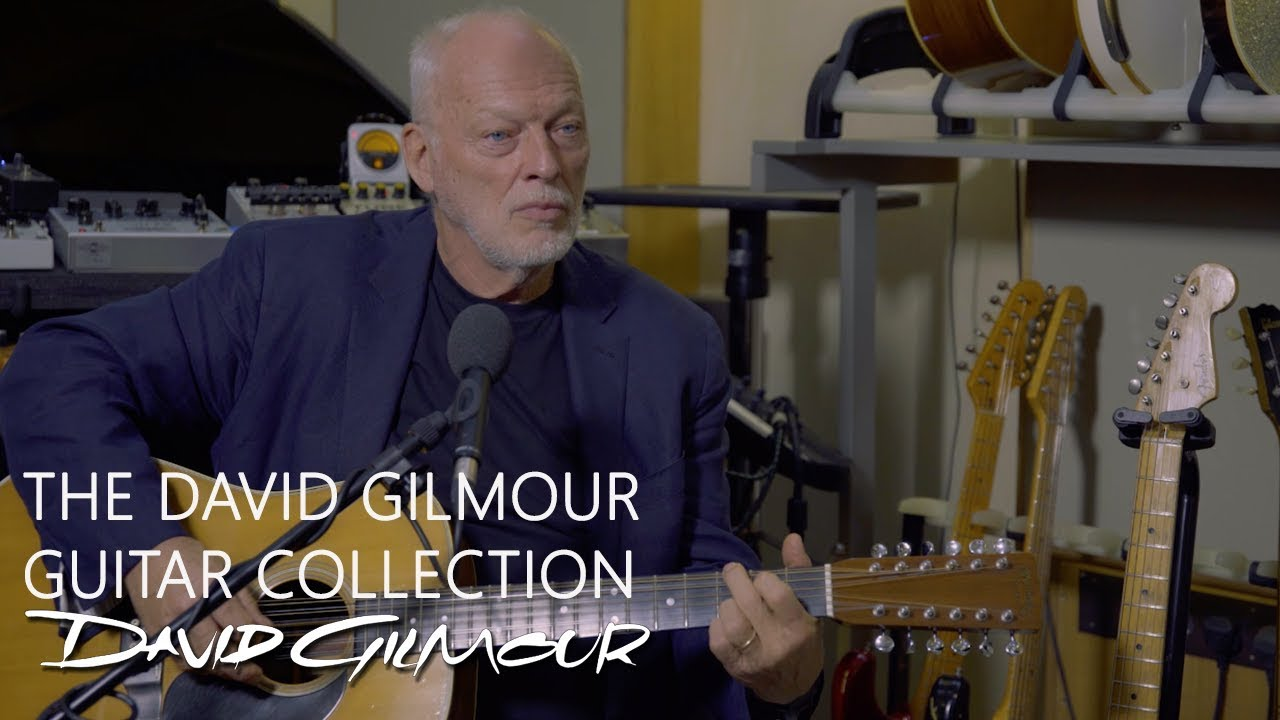 See David Gilmour Play 'Wish You Were Here' on Guitar He's