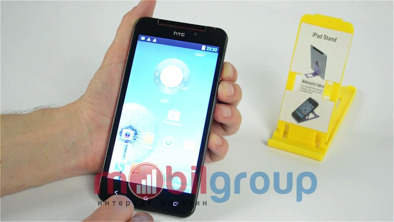 Мобильный телефон HTC x920 5,3 дюймовый дисплей МТК 6582 - YouTube