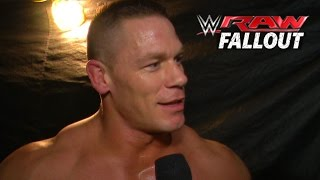 Cena Rights the Wrong - Raw Fallout - January 19, 2015