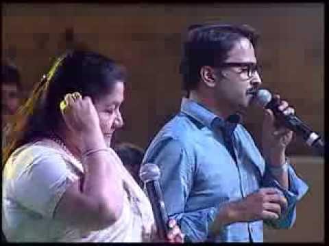 K.Sa and SPBalu's son Charan sing for BALASAIBABA