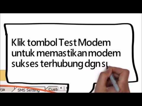 Kirim SMS via Simkah Desktop