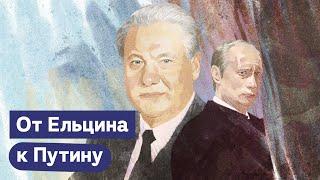 Кризис 1998 года. Путин становится преемником. Второй срок Ельцина