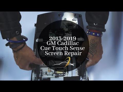 Cadillac Cue Radio Touchsense 8