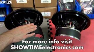 showtime electronics comparing mid and high level subwoofers with audio system