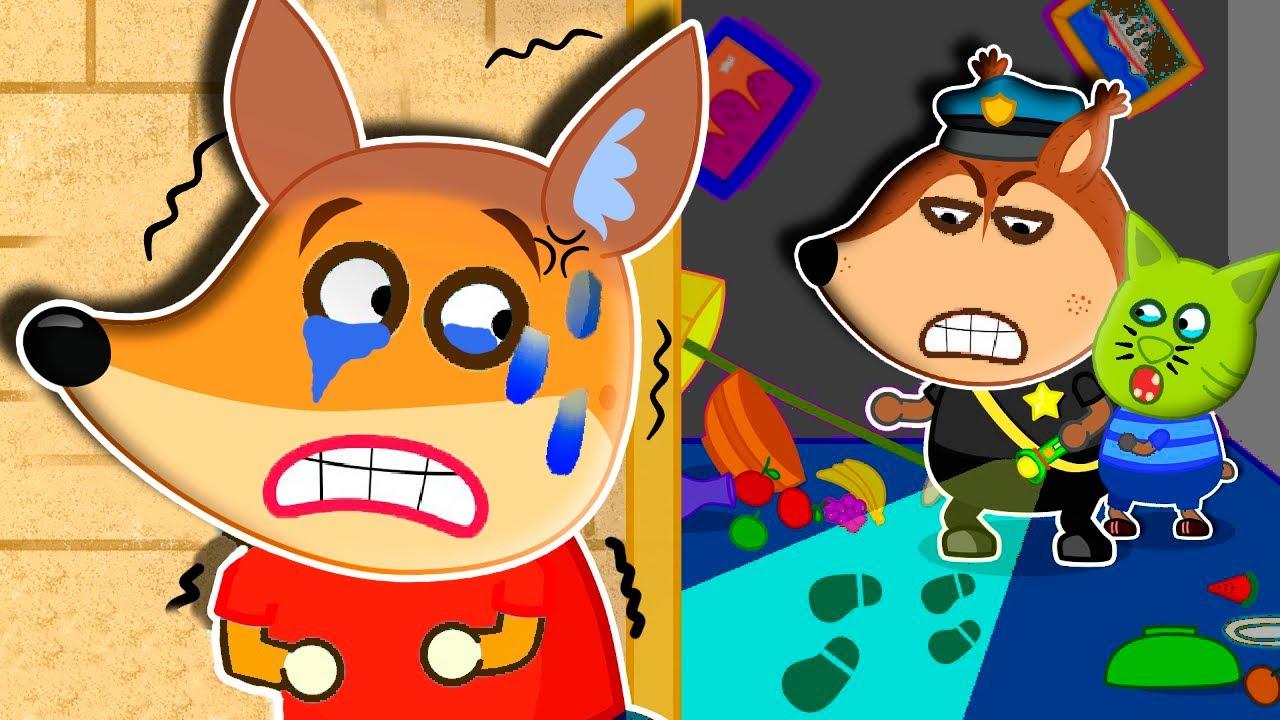 Familia de Raposa Aprende bons hábitos histórias para crianças #210