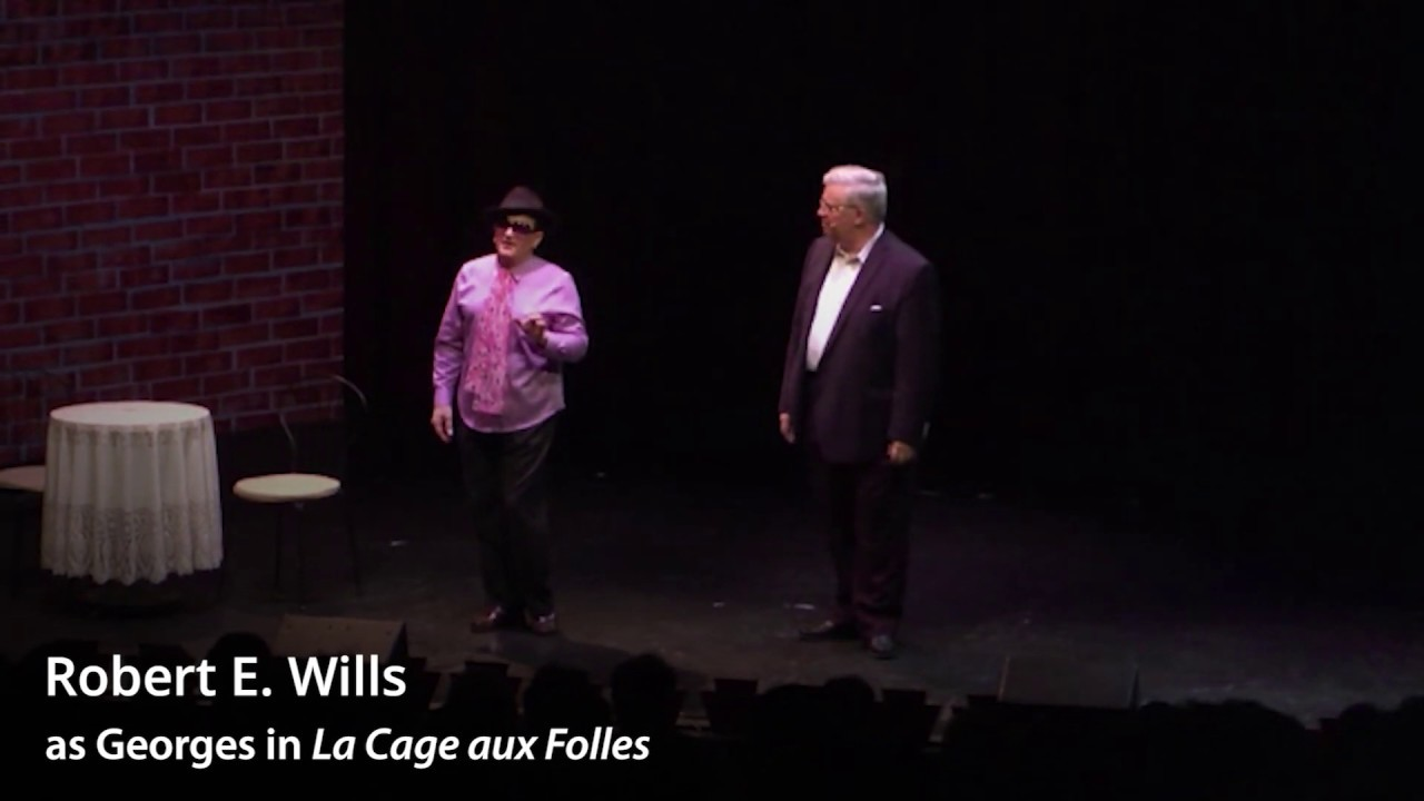 Robert E Wills Song On The Sand Reprise From La Cage Aux Folles Youtube