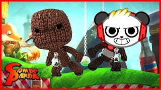 Little Big Planet THE PUMPINATOR !  Let's Play with Combo Panda
