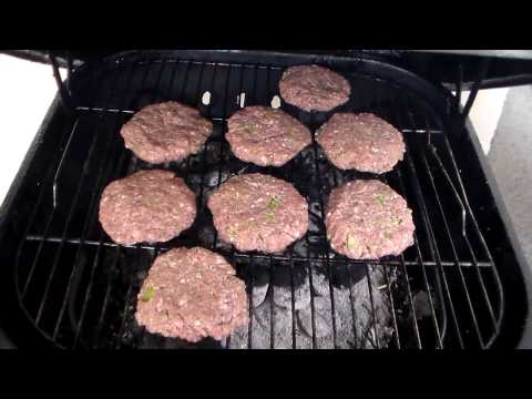 How To Make A Grilled Burger: Homemade Hamburger Recipe