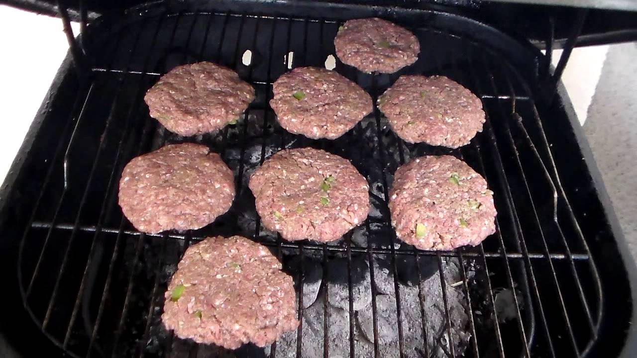 How to make really good burger on the grill