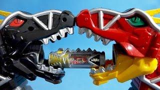 Power Rangers Dino Charge Kyoryuger Super Sentai sound Dinosaurs 파워레인저 다이노포스 블랙 티라노킹 다크버전 슈퍼 다이노셀