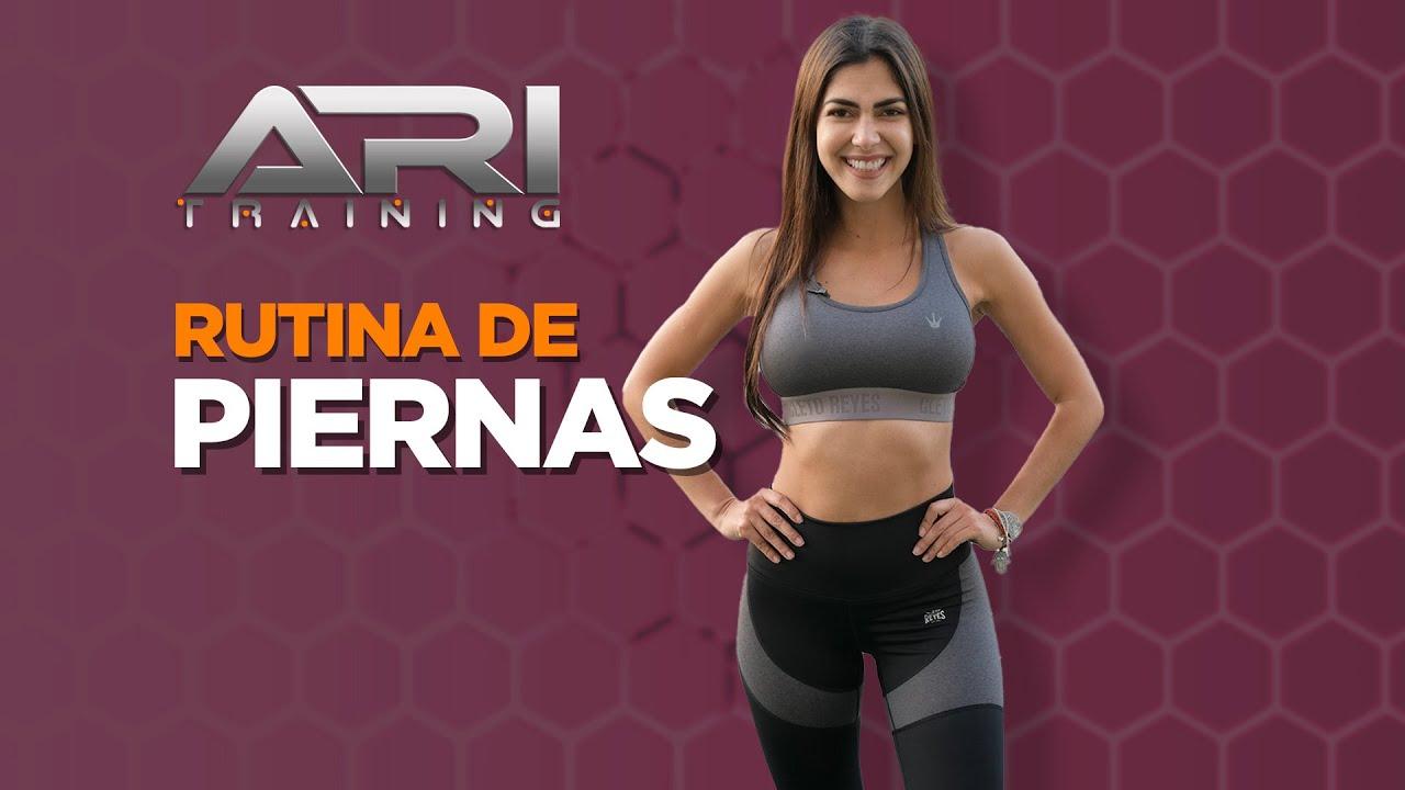 Rutina de PIERNAS - Ari Training - #LEGSWorkout